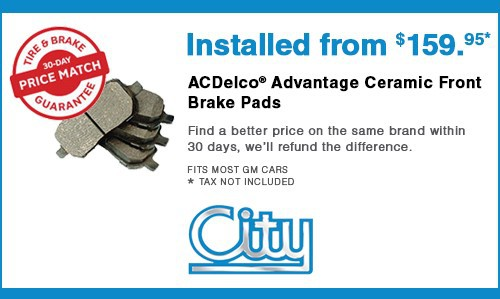 ACDelco® Advantage Ceramic Front Brake Pads