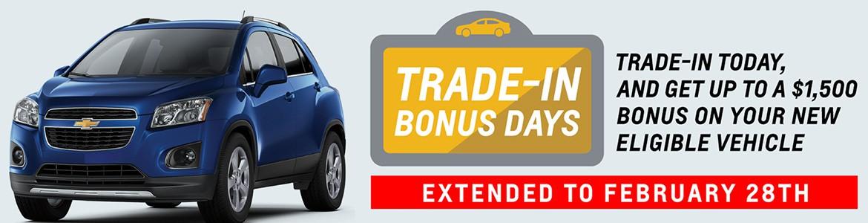 Trade-In Bonus days