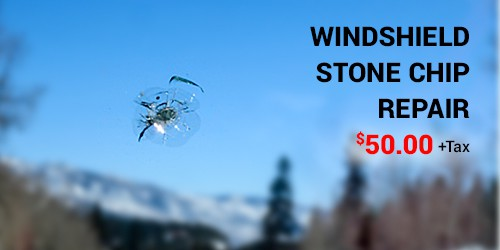 Windshield Stone Chip Repair