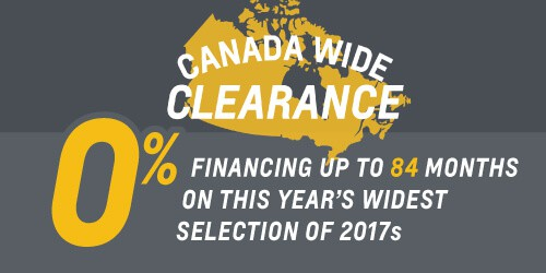 Canada Wide Clearance Sale