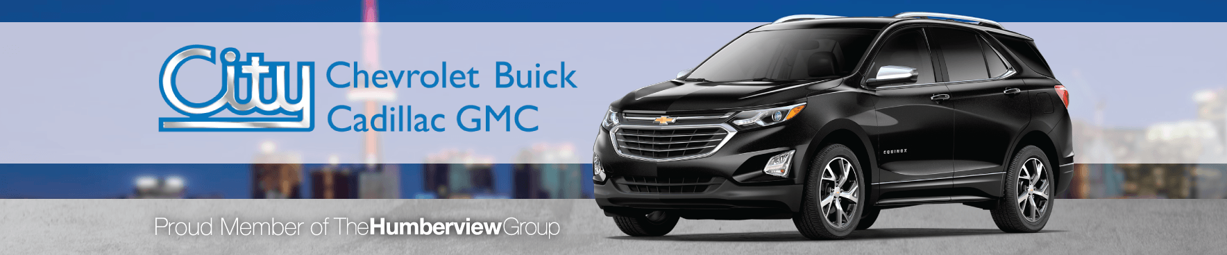 City Buick Chevrolet Cadillac GMC dealer in Toronto