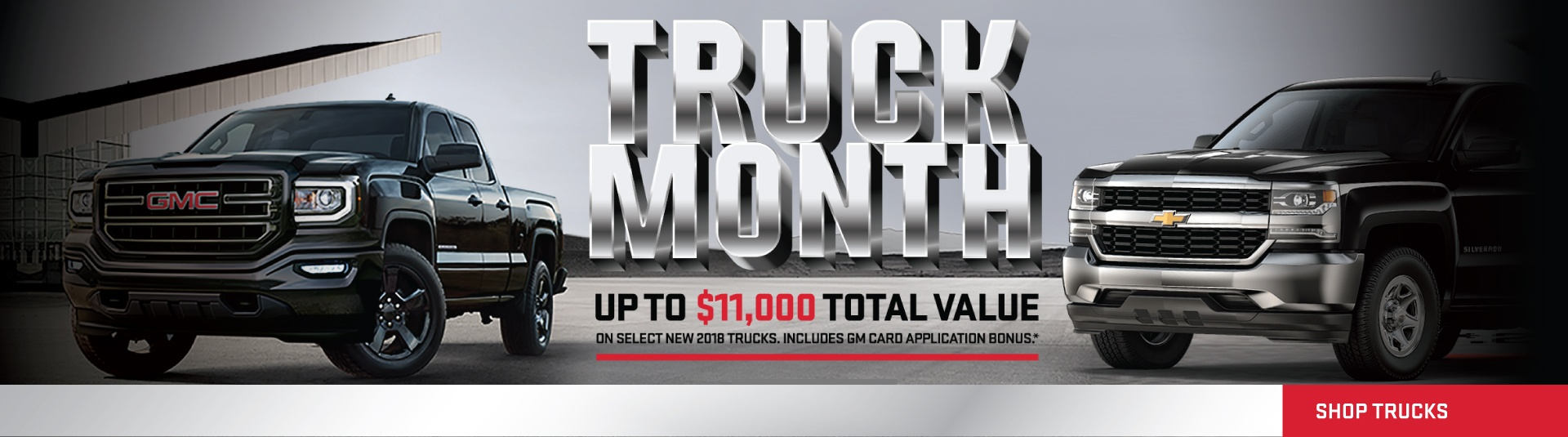 Truck Month Sale
