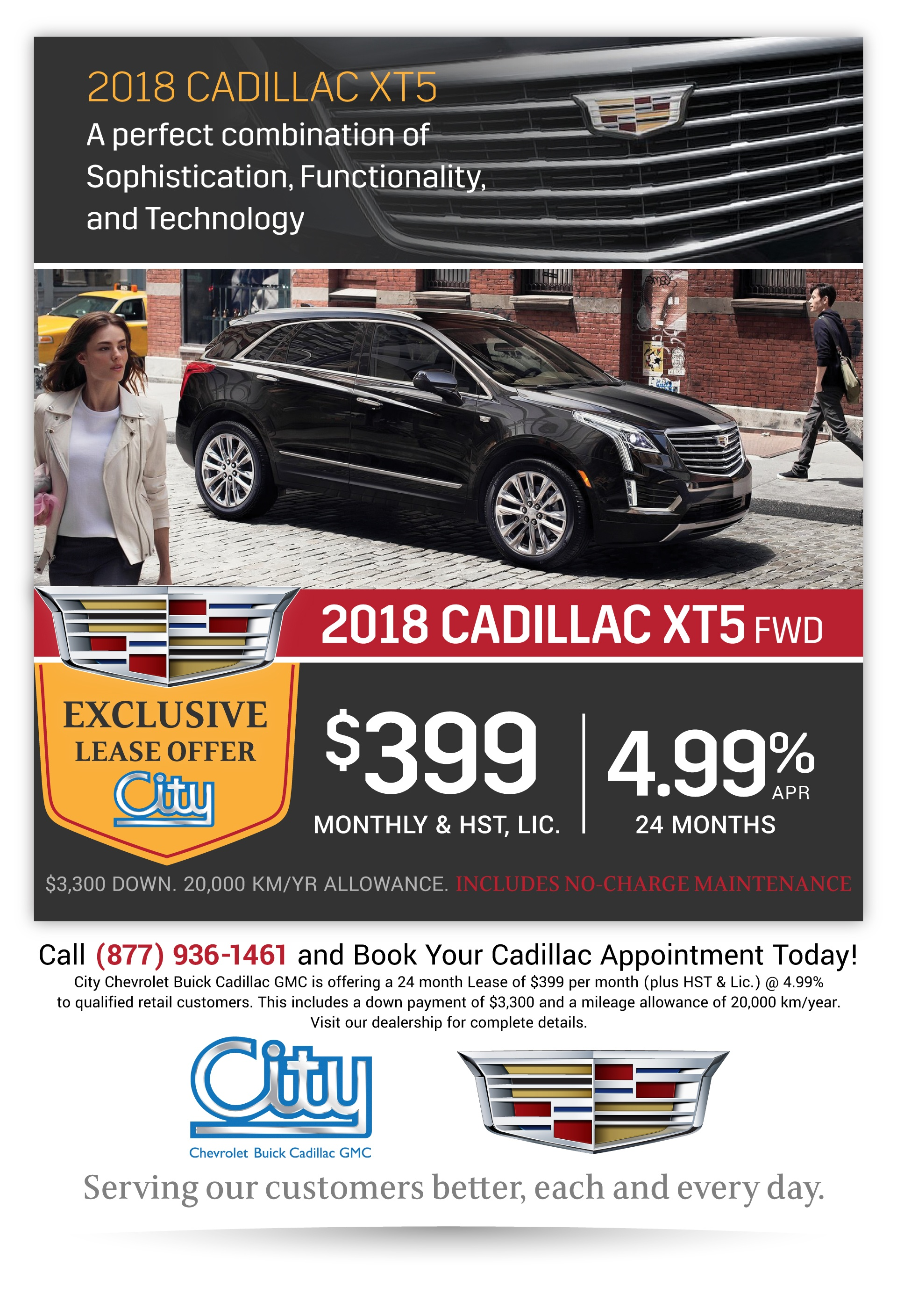Cadillac XT5 Special Lease Offer