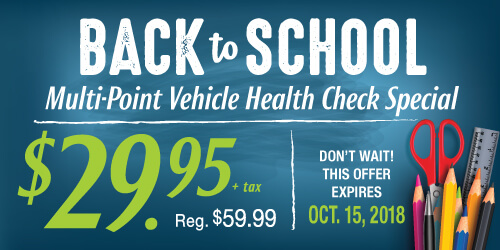 Back to School Multi-Point Health Check