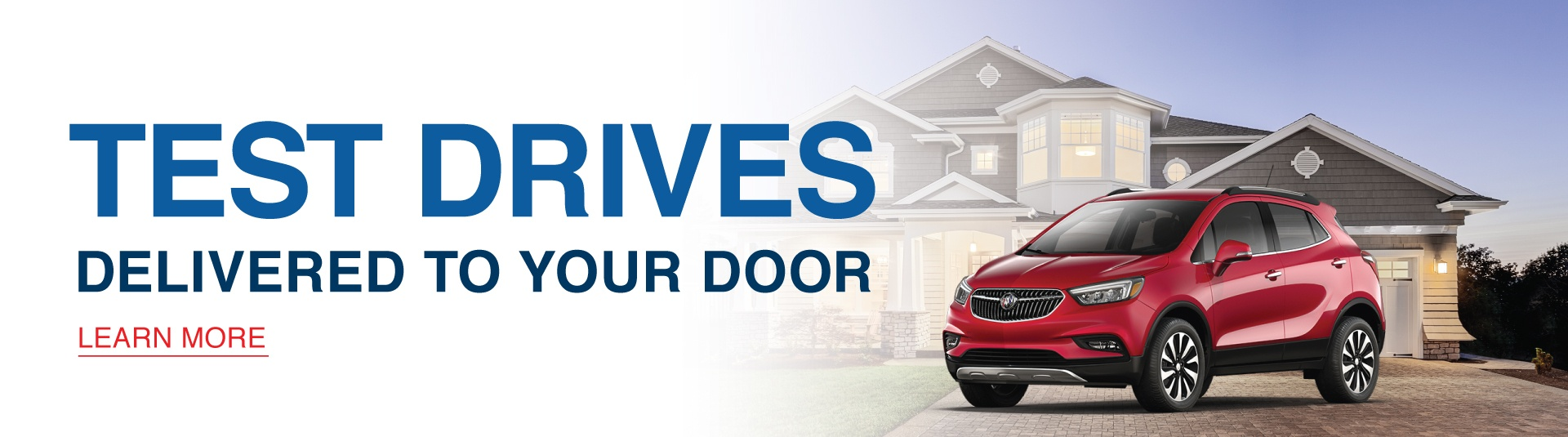 City Buick Test Drive From Home Program