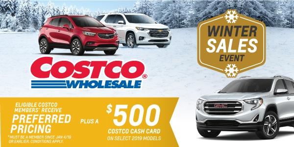 City Chevrolet Cadillac Buick GMC - Costco Member Incentive Program