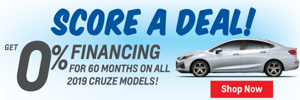 2019 Chevrolet Cruze Finance Offer in Toronto