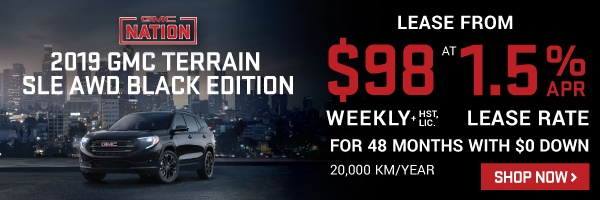 City Chevrolet Cadillac Buick GMC 2019 Terrain Offer