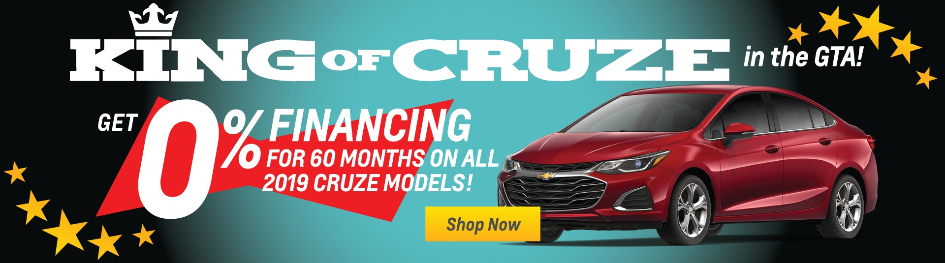 2019 Chevrolet Cruze Special Finance Offer in Toronto