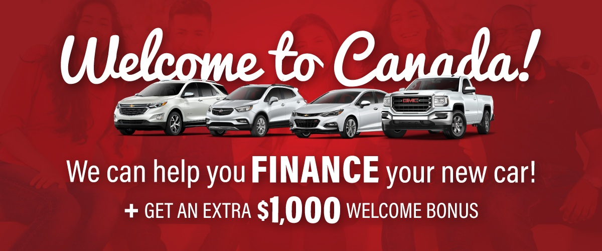 City Chevrolet Cadillac Buick GMC Welcome To Canada Program