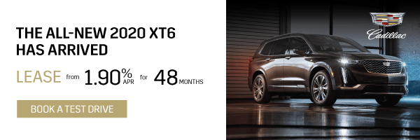 First Ever Cadillac XT6 in Toronto