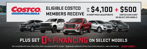 City Chevrolet Cadillac Buick GMC Costco Program in Toronto