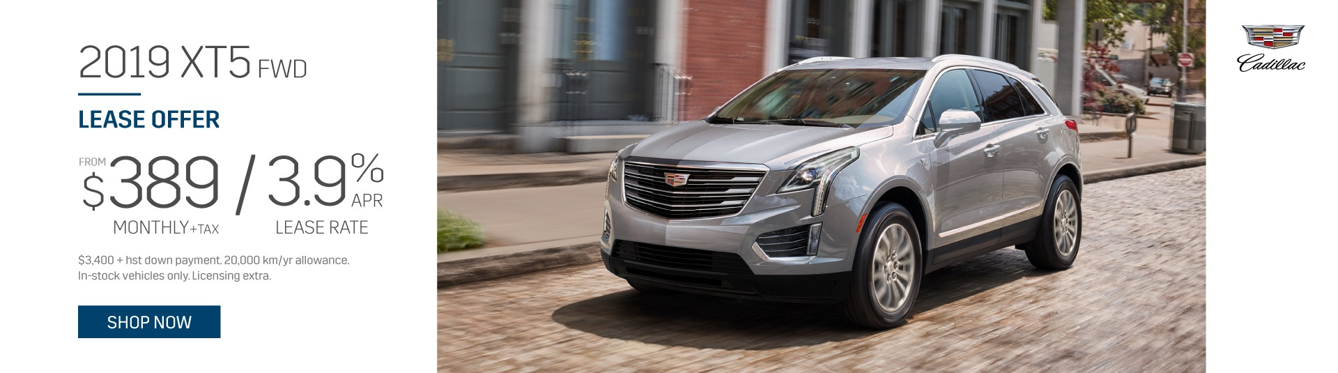 Cadillac XT5 Lease Offer in Toronto