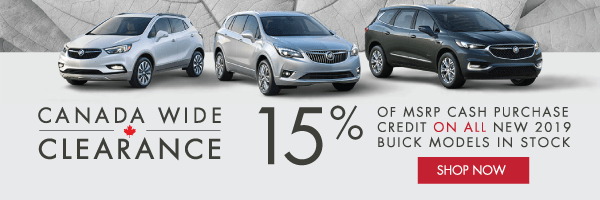 City Buick Clearance Event in Toronto