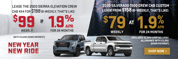 Chevrolet Silverado & GMC Sierra Offers in Toronto