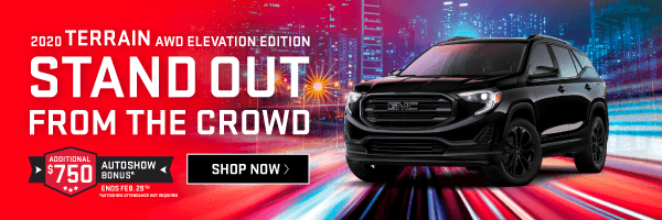 2020 GMC Terrain Offer in Toronto