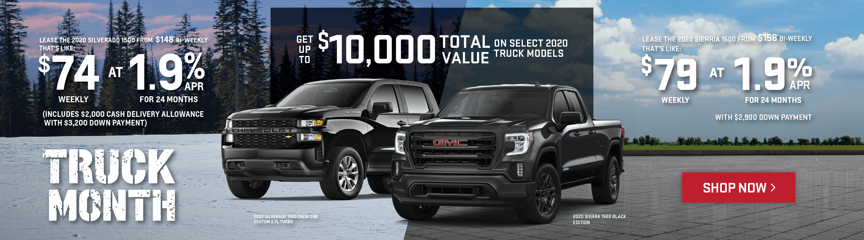 Chevrolet Silverado & GMC Sierra Truck Month Offers in Toronto