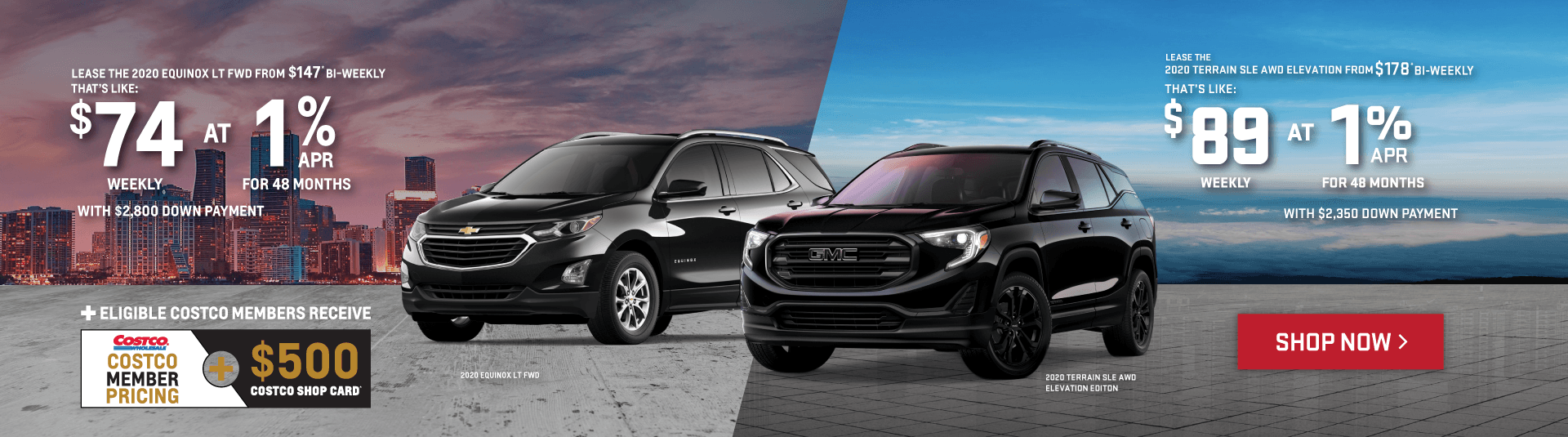 2020 Chevrolet Equinox and GMC Terrain Special Pricing in Toronto