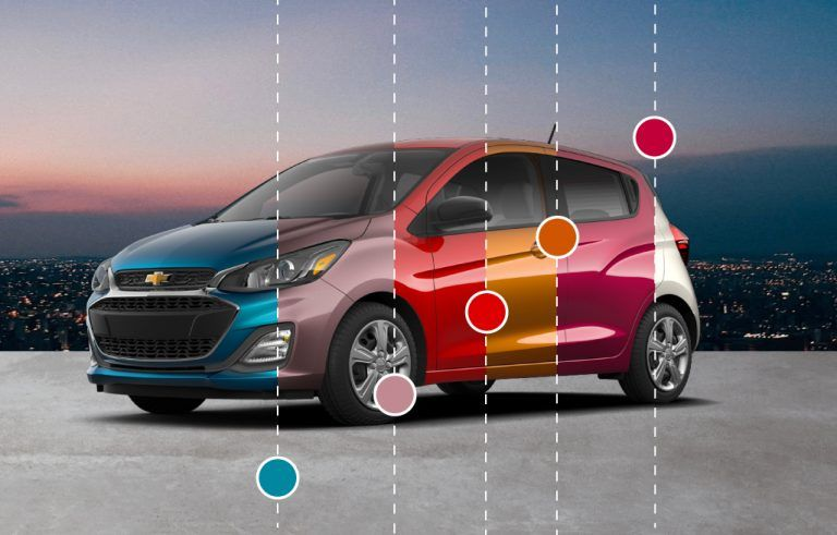 The City-Reay 2020 Chevrolet Spark