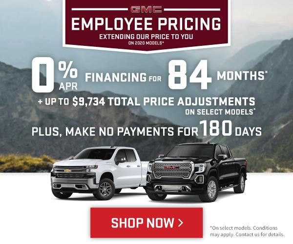 Chevrolet Silverado and GMC Sierra Offers in Toronto