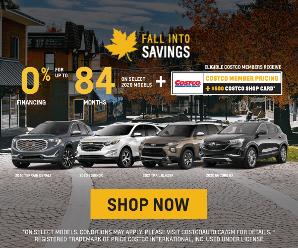 Chevrolet, Buick and GMC Fall Into Savings Sales Event in Toronto