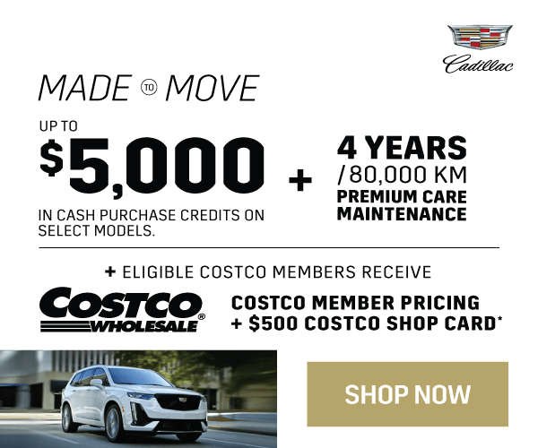 Cadillac Vehicle Promotion in Toronto
