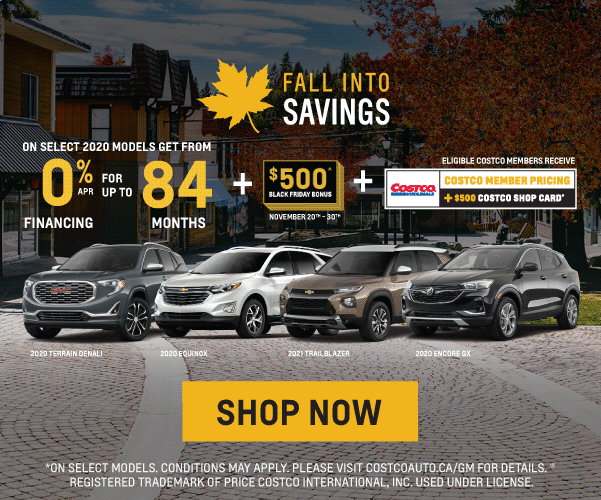 Chevrolet, Buick and GMC Black Friday Sales Event in Toronto
