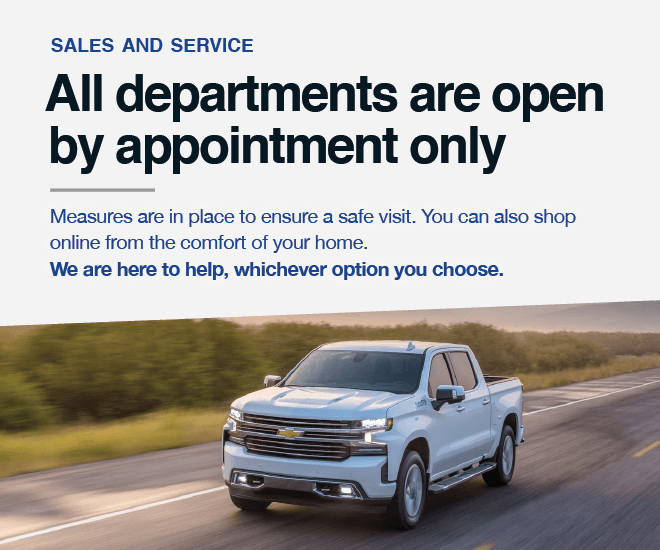 City Buick Chevrolet Cadillac GMC - Showroom and Service Open By Appointment Only