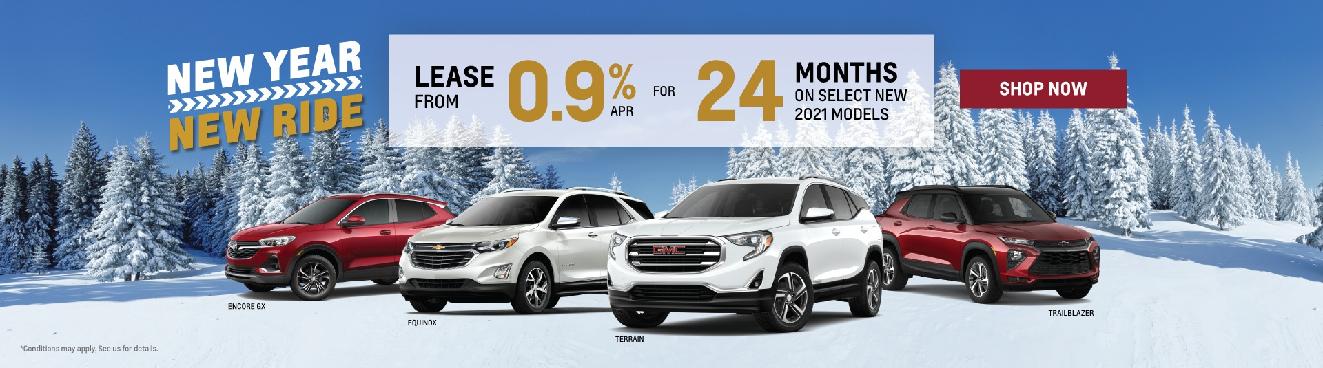 Chevrolet, Buick and GMC 2021 SUV Offers in Toronto