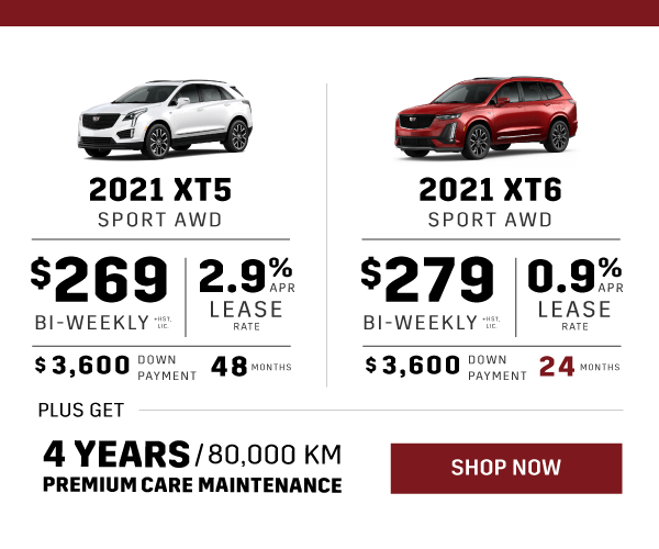 Cadillac XT5 and XT6 Promotion in Toronto