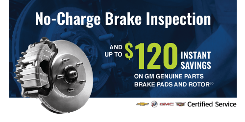 No-Charge Brake Inspection