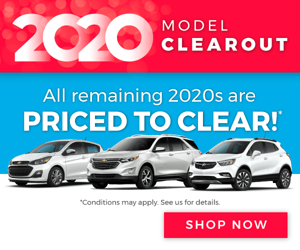 Chevrolet, Buick, GMC and Cadillac Model Clearout in Toronto