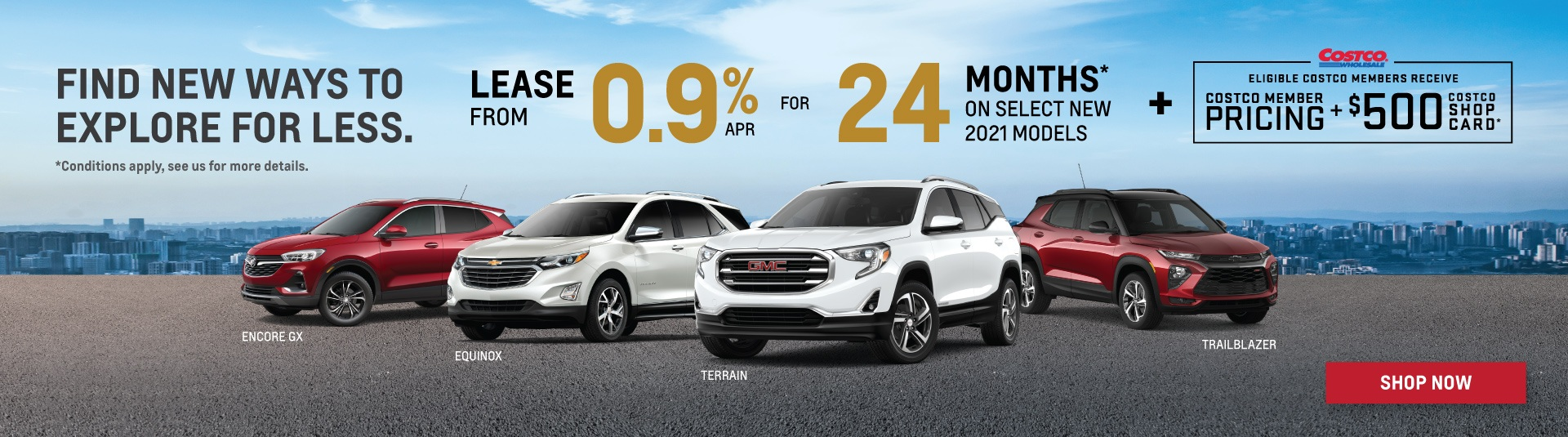 2021 Chevrolet, Buick and GMC SUV Offers in Toronto