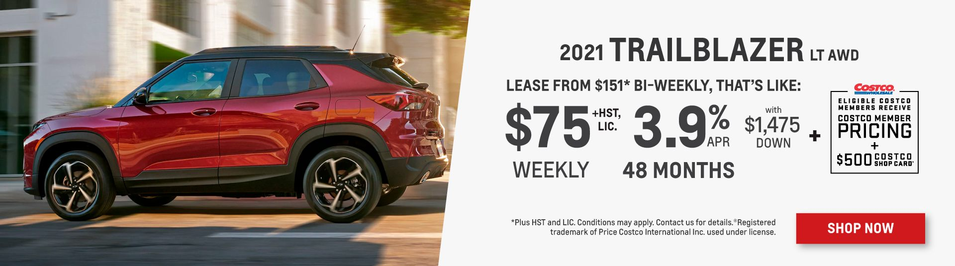 2021 Chevrolet Trailblazer Offer in Toronto