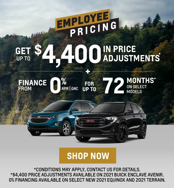 GM Employee Pricing - City Buick