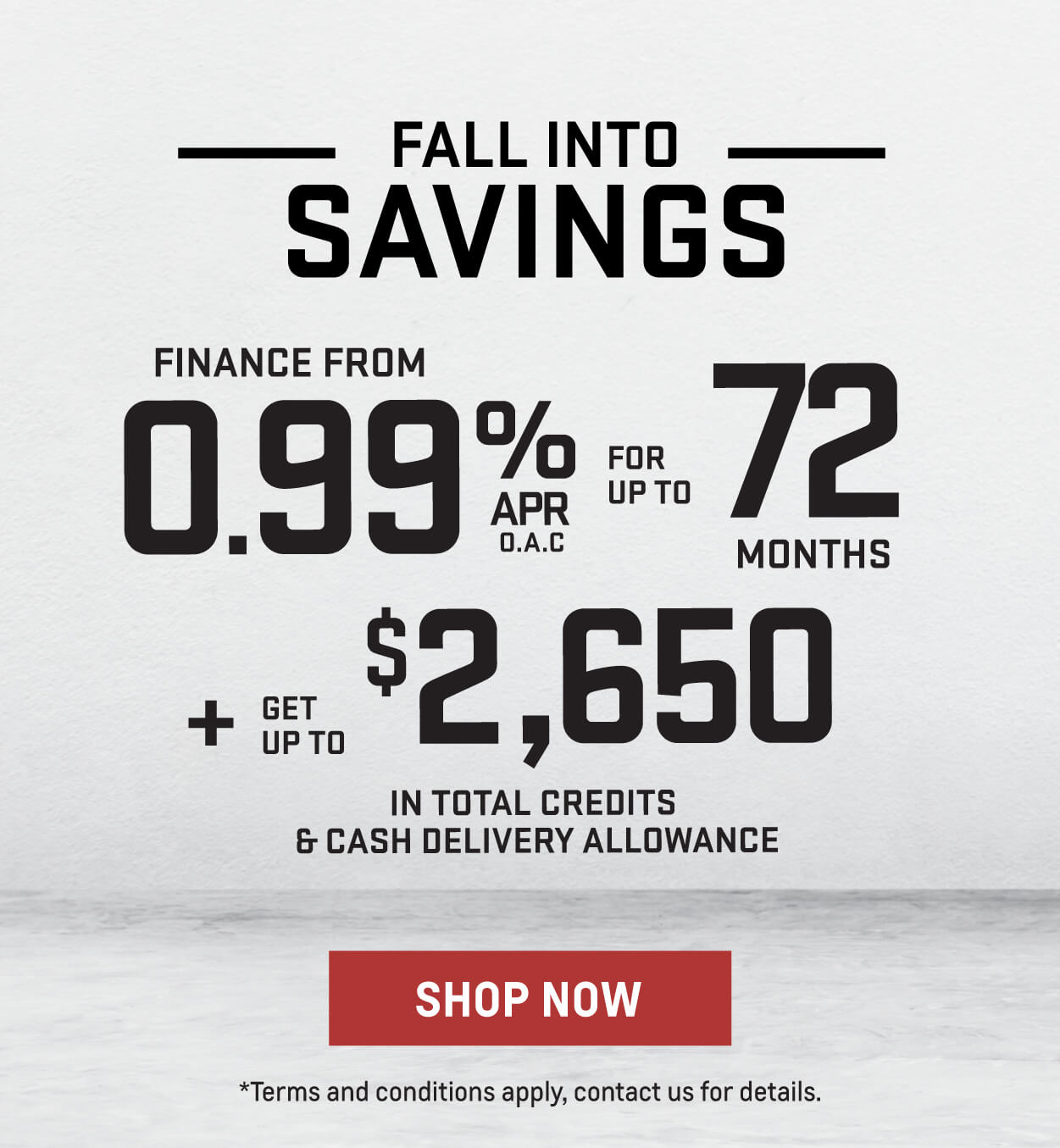 Fall Into Savings GM Trucks - City GM