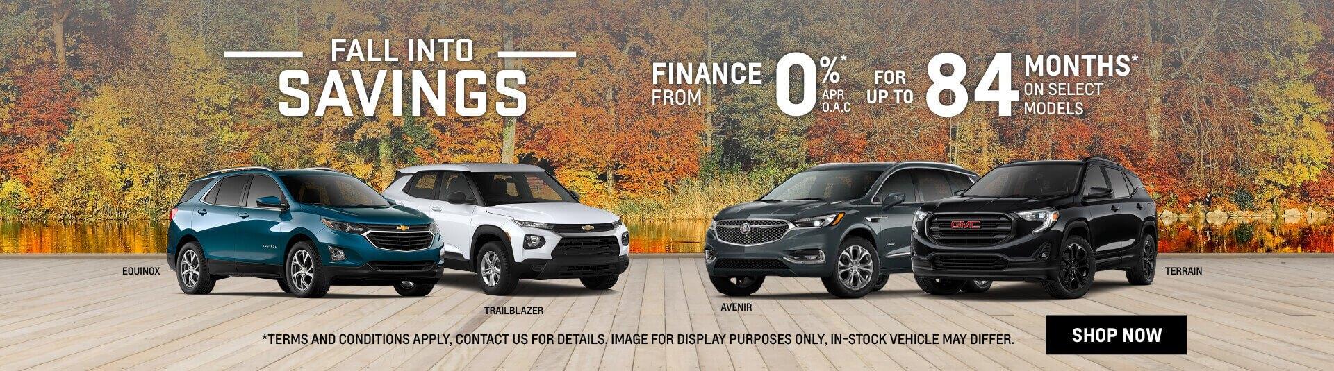 GM Fall Into Savings Event in Toronto - City GM