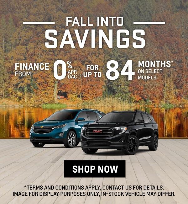 GM Fall Into Savings Sale in Toronto - City GM