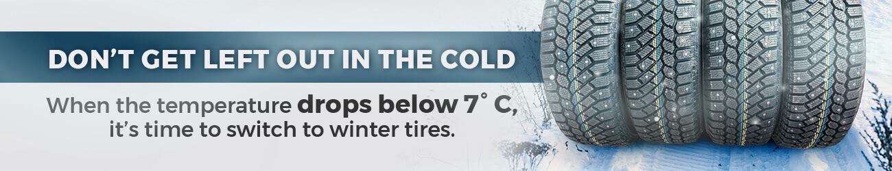 Winter Tire Hero Banner